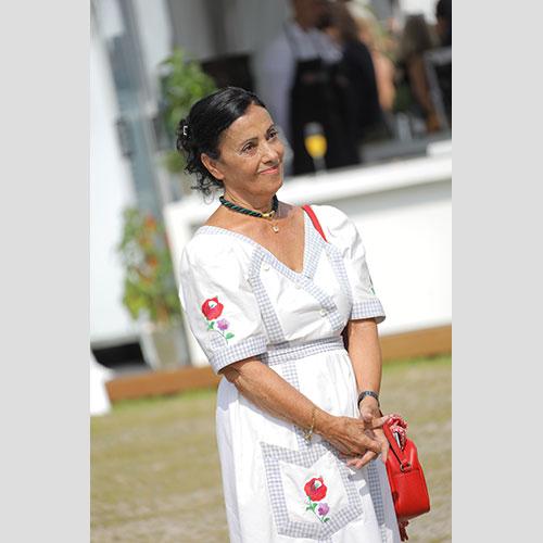 Carmen Würth na svom 80. rođendanu