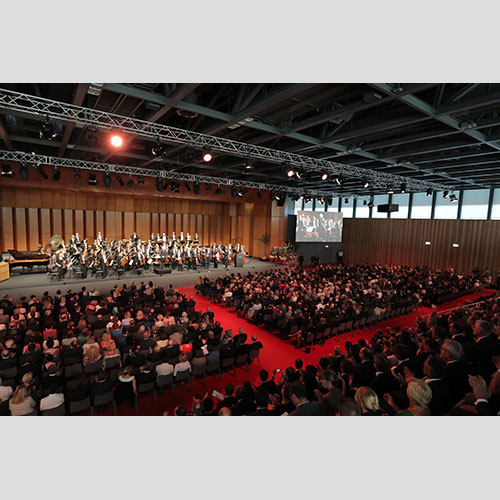 Koncert otvorenja u Velikoj dvorani Carmen Würth Foruma