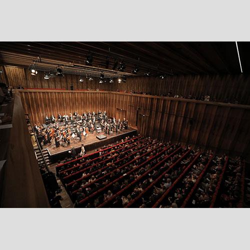 Koncert otvorenja u dvorani za komornu muziku