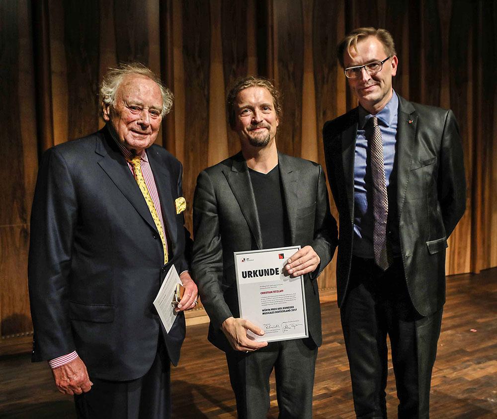 Würthova nagrada Jeunces Musicales Germany 2017