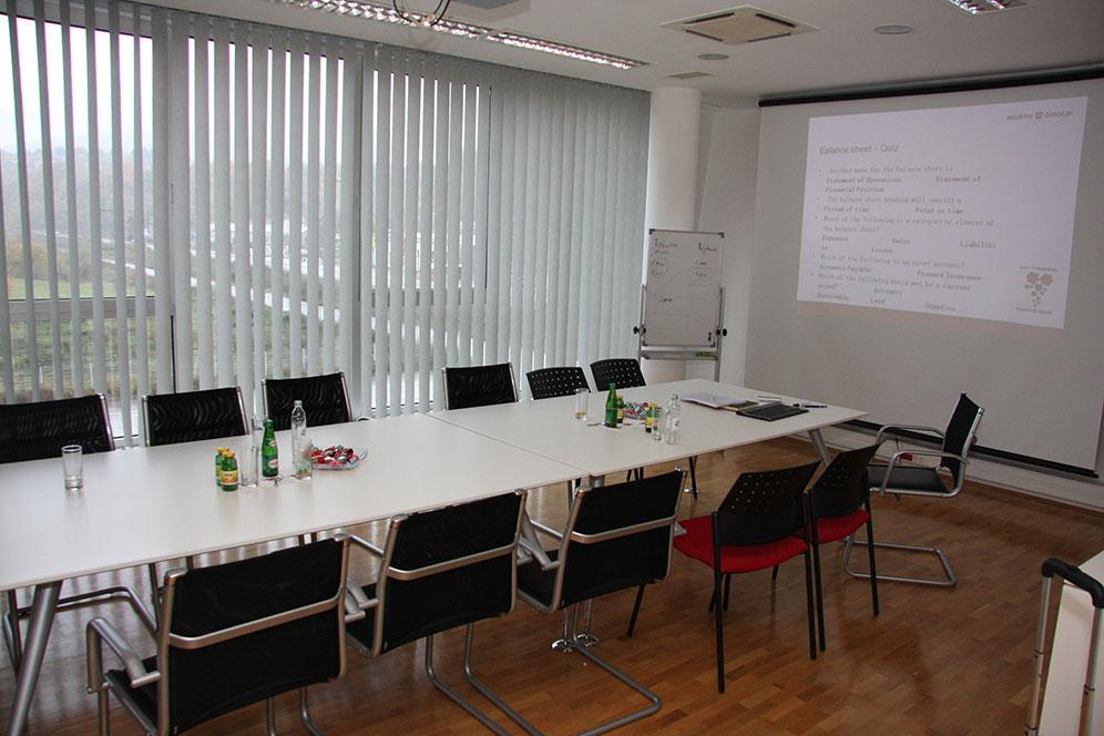 Wurth centrala - Dvorana za konferencije